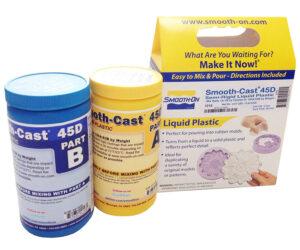 Smooth-Cast 45D – полужесткий полиуретановый пластик