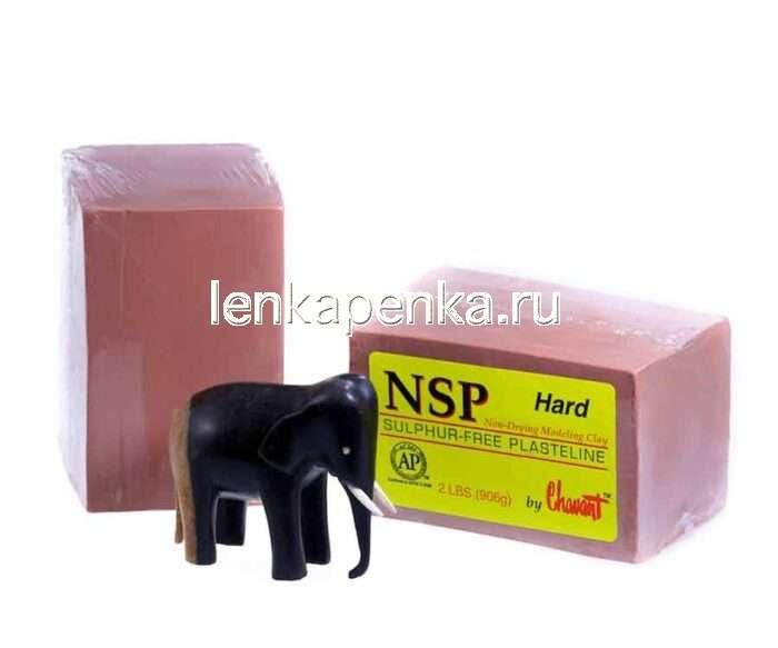 NSP Hard - пластилин скульптурный, твердый-0