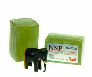 NSP Medium - пластилин скульптурный, средней твердости-0
