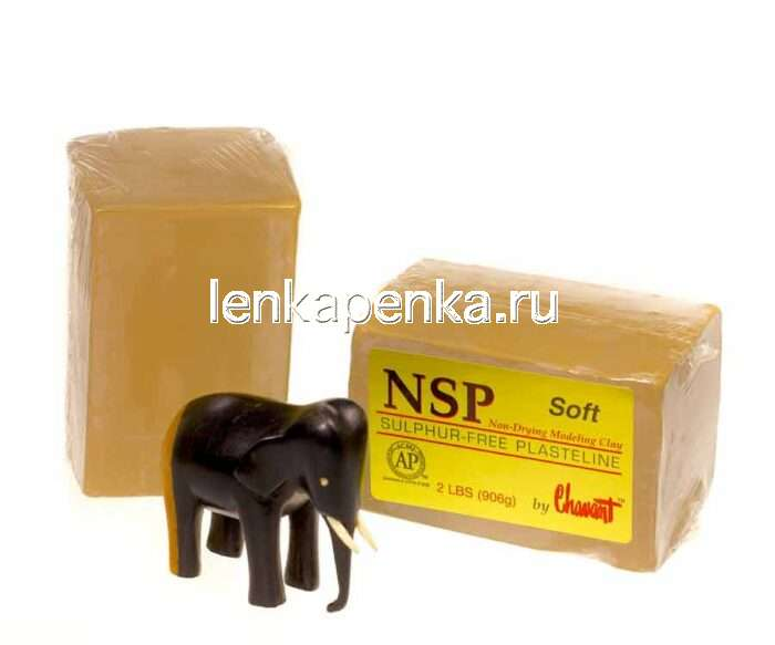 NSP Soft - пластилин скульптурный, мягкий-0