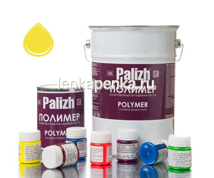 Колер Палиж Полимер О - желтый NP