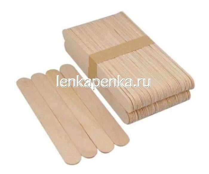 Шпатель деревянный 150х18х1