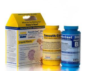 Smooth-Cast 300 - белый жидкий пластик