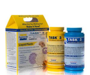 TASK 3 - белый жидкий пластик