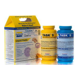 TASK 9 - жидкий полиуретановый пластик