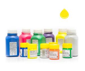 Пигментная паста Палиж UPC - цвет лимонный флуоресцентный-0,3 кг-0