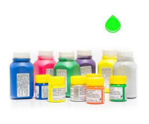 Пигментная паста Палиж UPC - цвет зеленый флуоресцентный-0,3 кг-0