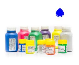Пигментная паста Палиж UPC - цвет синий флуоресцентный-0,3 кг-0