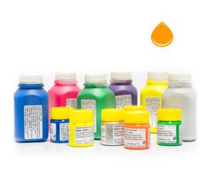 Пигментная паста Палиж UPC - цвет оранжевый флуоресцентный-0,3 кг-0