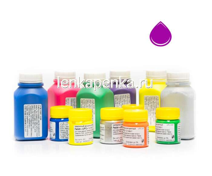 Пигментная паста Палиж UPC - цвет пурпурный флуоресцентный