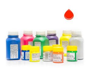 Пигментная паста Палиж UPC - цвет красный флуоресцентный-0,3 кг-0