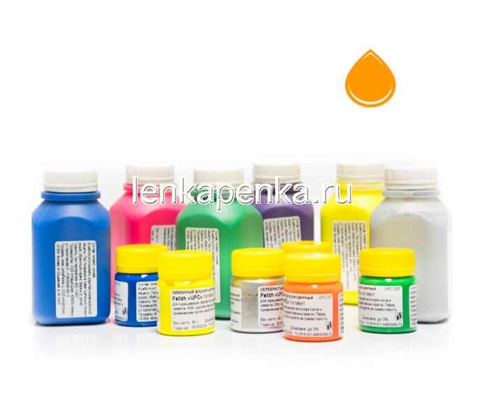 Пигментная паста Палиж UPC - цвет оранжевый флуоресцентный