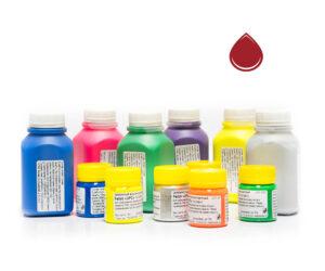 Пигментная паста Палиж UPC - цвет красный-0