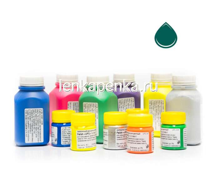 Пигментная паста Палиж UPC - цвет зеленый